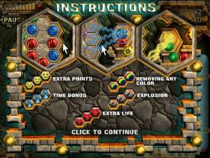 Онлайн игра Пещера майя (Mayan Caves) (изображение №4)