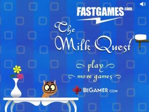 Онлайн игра Молочное приключение (The Milk Quest) (изображение №6)