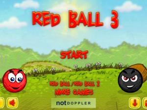 Красный мяч 3