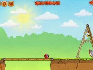 Онлайн игра Красный мяч 3 (Red Ball 3) (изображение №7)
