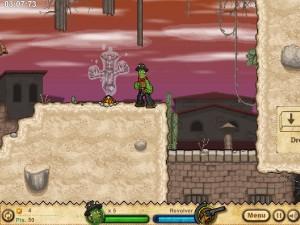 Онлайн игра Кактус Маккой 2: руины Калаверы (Cactus McCoy 2: The Ruins of Calavera) (изображение №9)
