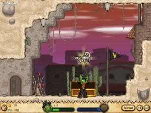 Онлайн игра Кактус Маккой 2: руины Калаверы (Cactus McCoy 2: The Ruins of Calavera) (изображение №8)