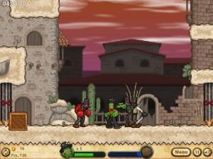 Онлайн игра Кактус Маккой 2: руины Калаверы (Cactus McCoy 2: The Ruins of Calavera) (изображение №7)
