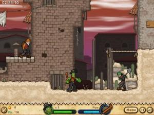 Онлайн игра Кактус Маккой 2: руины Калаверы (Cactus McCoy 2: The Ruins of Calavera) (изображение №6)