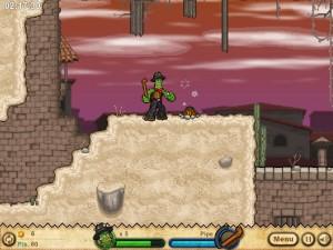 Онлайн игра Кактус Маккой 2: руины Калаверы (Cactus McCoy 2: The Ruins of Calavera) (изображение №5)