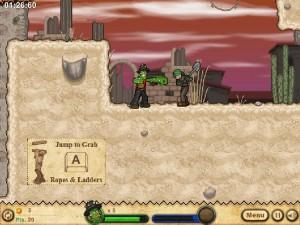 Онлайн игра Кактус Маккой 2: руины Калаверы (Cactus McCoy 2: The Ruins of Calavera) (изображение №2)