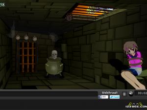 Онлайн игра Девушка в ловушке (Girl Trap Escape) (изображение №3)