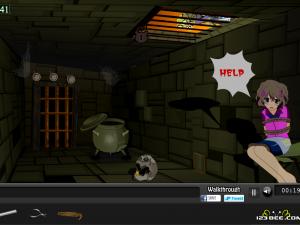 Онлайн игра Девушка в ловушке (Girl Trap Escape) (изображение №4)