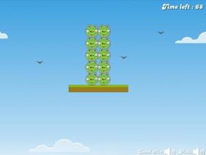 Онлайн игра Злые птицы, плохие свиньи (Angry Birds Bad Pigs) (изображение №3)