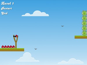 Онлайн игра Злые птицы, плохие свиньи (Angry Birds Bad Pigs) (изображение №4)