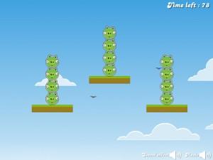 Онлайн игра Злые птицы, плохие свиньи (Angry Birds Bad Pigs) (изображение №5)