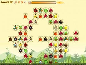 Онлайн игра Соедини злых птиц (Angry Birds Connect) (изображение №2)