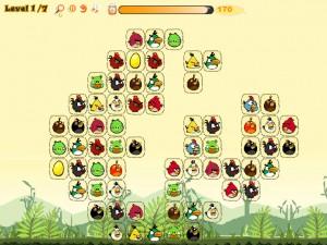 Онлайн игра Соедини злых птиц (Angry Birds Connect) (изображение №3)