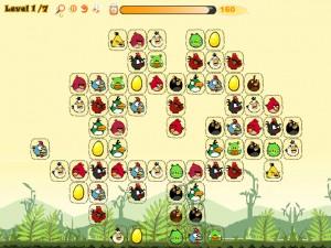Онлайн игра Соедини злых птиц (Angry Birds Connect) (изображение №4)