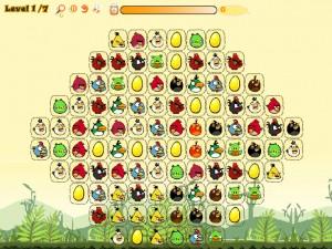 Онлайн игра Соедини злых птиц (Angry Birds Connect) (изображение №5)