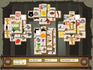 Онлайн игра Маджонг с животными (Animal Mahjong) (изображение №1)