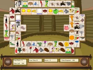 Онлайн игра Маджонг с животными (Animal Mahjong) (изображение №9)