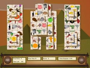 Онлайн игра Маджонг с животными (Animal Mahjong) (изображение №7)
