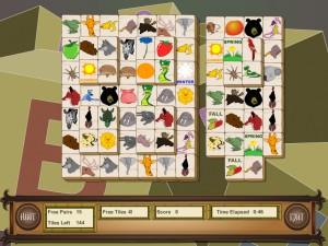 Онлайн игра Маджонг с животными (Animal Mahjong) (изображение №6)