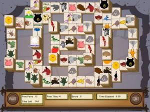 Онлайн игра Маджонг с животными (Animal Mahjong) (изображение №5)