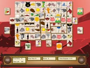 Онлайн игра Маджонг с животными (Animal Mahjong) (изображение №4)