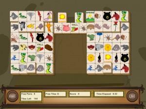 Онлайн игра Маджонг с животными (Animal Mahjong) (изображение №3)