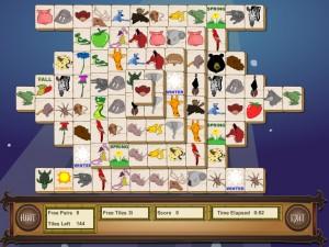 Онлайн игра Маджонг с животными (Animal Mahjong) (изображение №10)