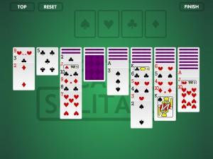 Онлайн Игра пасьянс (Solitaire Cards) (изображение №2)