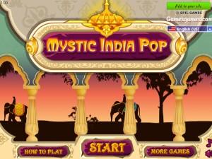 Онлайн игра Волшебные индийские шарики Зума (Mystic India Pop) (изображение №2)