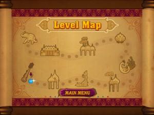Онлайн игра Волшебные индийские шарики Зума (Mystic India Pop) (изображение №3)