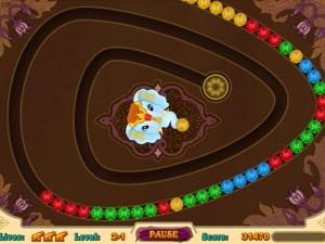 Онлайн игра Волшебные индийские шарики Зума (Mystic India Pop) (изображение №4)