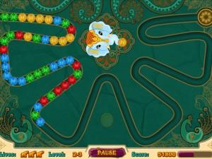 Онлайн игра Волшебные индийские шарики Зума (Mystic India Pop) (изображение №6)