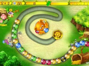 Онлайн Хани Трабл игра Zuma (Honey Trouble) (изображение №2)