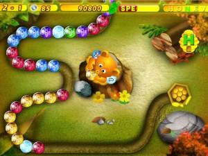 Онлайн Хани Трабл игра Zuma (Honey Trouble) (изображение №1)