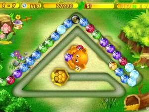 Онлайн игра Хани Трабл Zuma (Honey Trouble) (изображение №3)