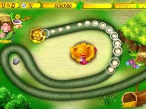 Онлайн Хани Трабл игра Zuma (Honey Trouble) (изображение №6)