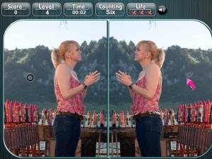Онлайн игра Медведь Йоги, найди разницу (Yogi Bear Spot the Difference) (изображение №2)