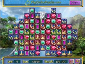 Онлайн игра Потерянные сокровища (Lost Jewerly) (изображение №2)