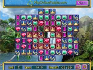Онлайн игра Потерянные сокровища (Lost Jewerly) (изображение №3)