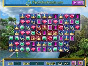 Онлайн игра Потерянные сокровища (Lost Jewerly) (изображение №4)