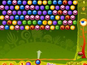 Онлайн игра Стреляй монстрами (Yummy Yummy Monster Shooter) (изображение №4)