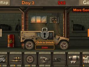 Онлайн игра Дави зомби 2012 (Earn to Die 2012) (изображение №6)