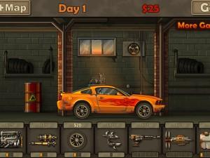 Онлайн игра Дави зомби 2012 (Earn to Die 2012) (изображение №4)
