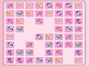 Онлайн игра Пони-пары соединения  (My Little Pony Connect It) (изображение №1)