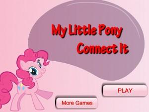 Онлайн игра Пони-пары соединения  (My Little Pony Connect It) (изображение №2)