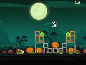 Онлайн игра Хэллоуин злых птичек (Angry Birds Halloween) (изображение №4)