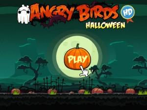 Онлайн игра Хэллоуин злых птичек (Angry Birds Halloween) (изображение №1)
