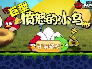 Онлайн игра Крупные птички (Angry Birds Huge) (изображение №4)