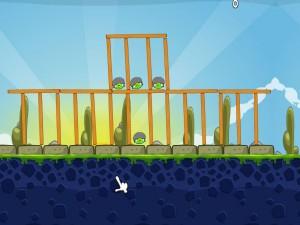 Онлайн игра Крупные птички (Angry Birds Huge) (изображение №5)