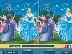 Онлайн игра Найди отличия вместе с Золушкой (Cinderella Difference) (изображение №3)